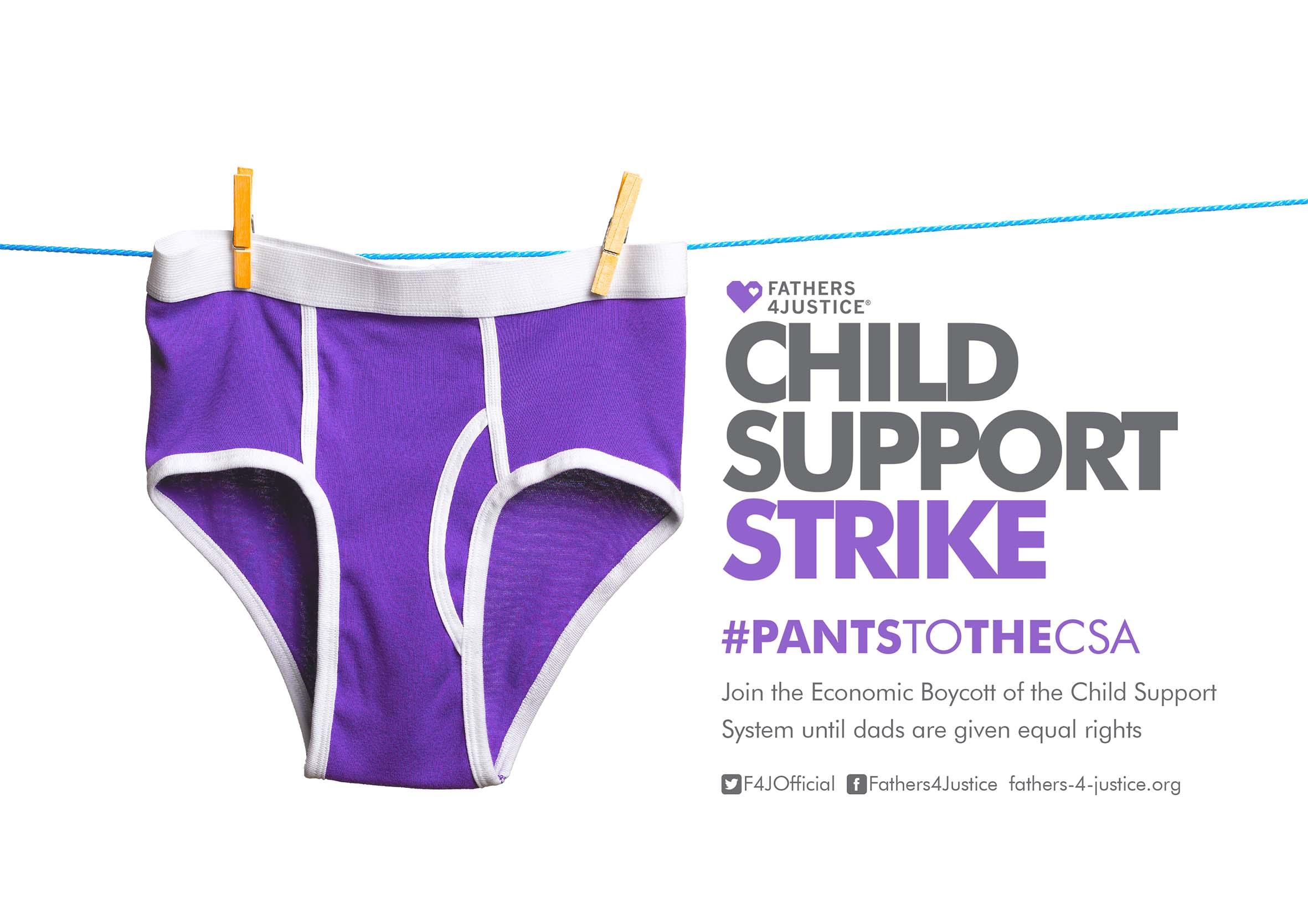 CHILD SUPPORT STRIKE LOGO 2