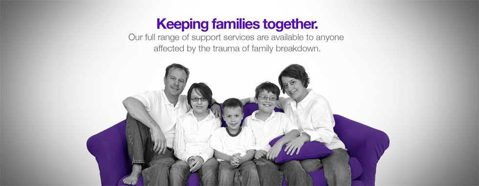 Keeping Families Together - Our Family Lifeline and support service.