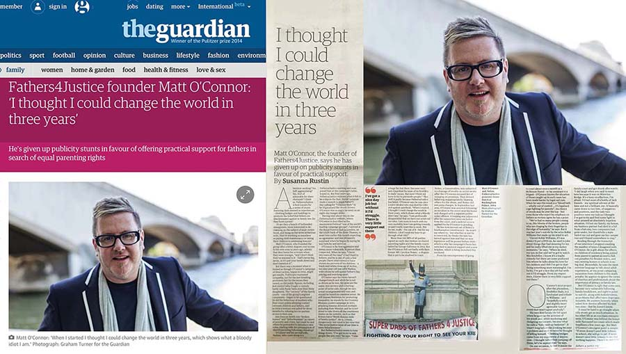 GUARDIAN FATHER'S DAY INTERVIEW MONTAGE LO