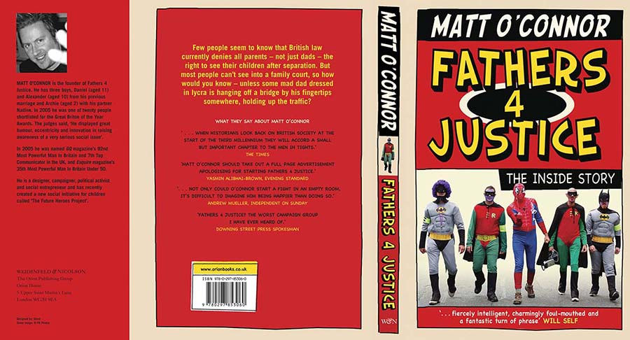 OFFICIAL FATHERS4JUSTICE BOOK 2007