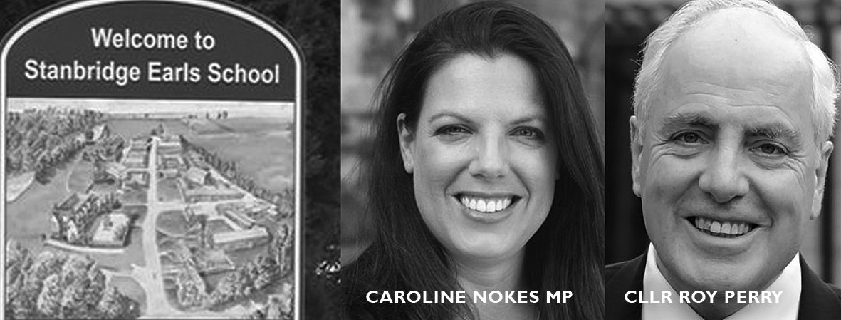Caroline Nokes MP and Cllr Roy Perry