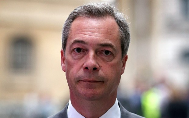 Nigel Farage Leader of UKIP