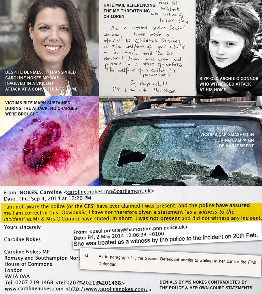 Caroline Nokes Not Fit For Public Office