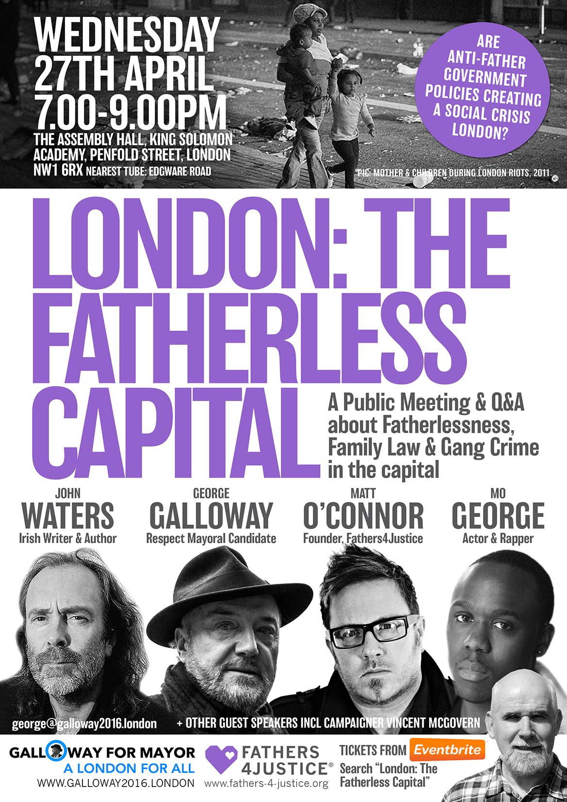 LONDON - THE FATHERLESS CAPITAL 3 MED